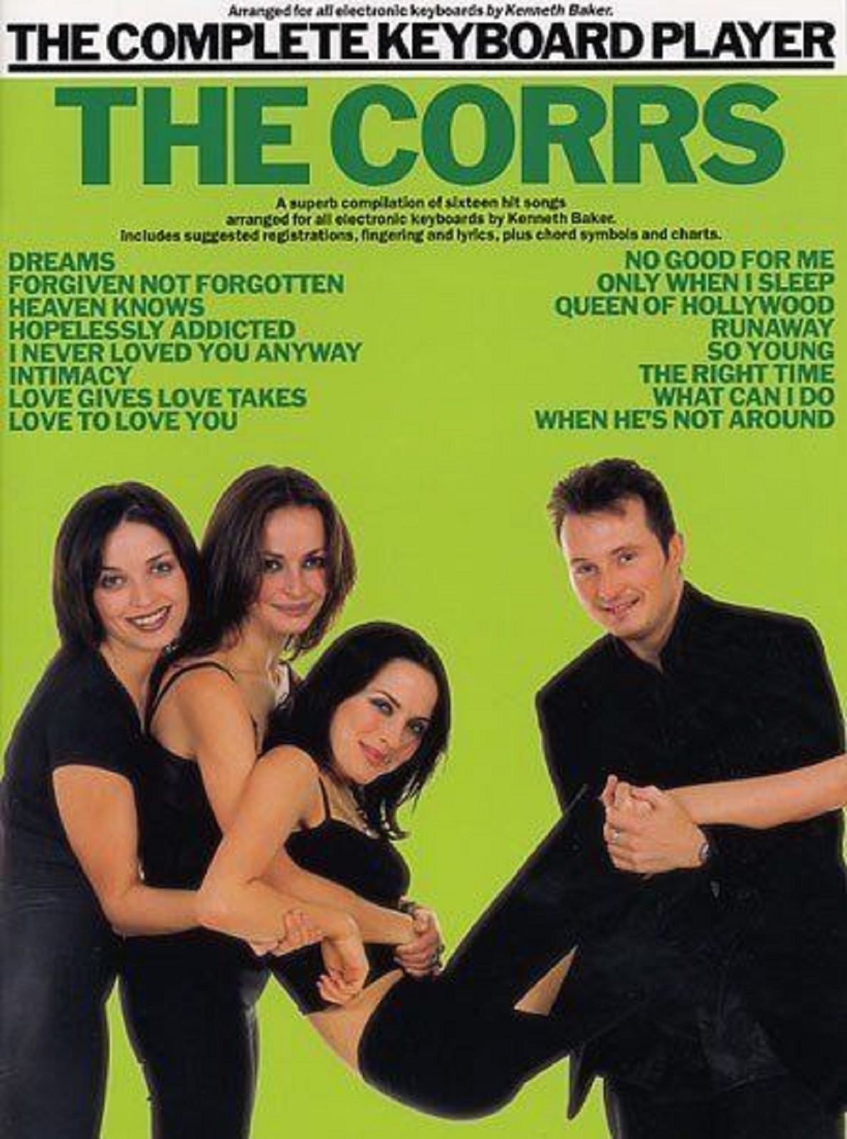 The Corrs The Complete Keyboard Player Sheet Music Dreams Intimacy Book S145