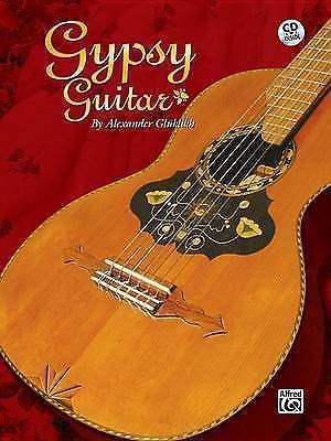 Gypsy Guitar Book CD Tab Notes Eastern European Alexander Gluklikh Classical B49