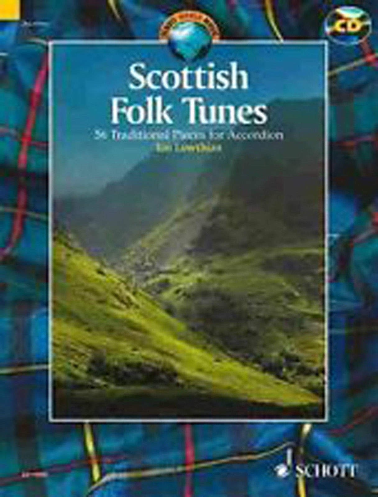 Scottish Folk Tunes Book CD 54 Traditional Pieces for Accordion Ian Lowthian B51