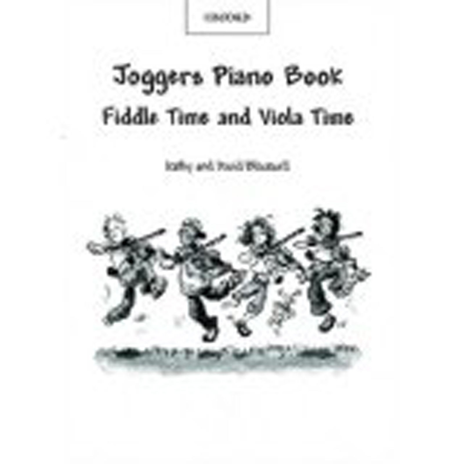 Joggers Piano Book for Fiddle Time & Viola Time Teacher's Copy Sheet Music B52