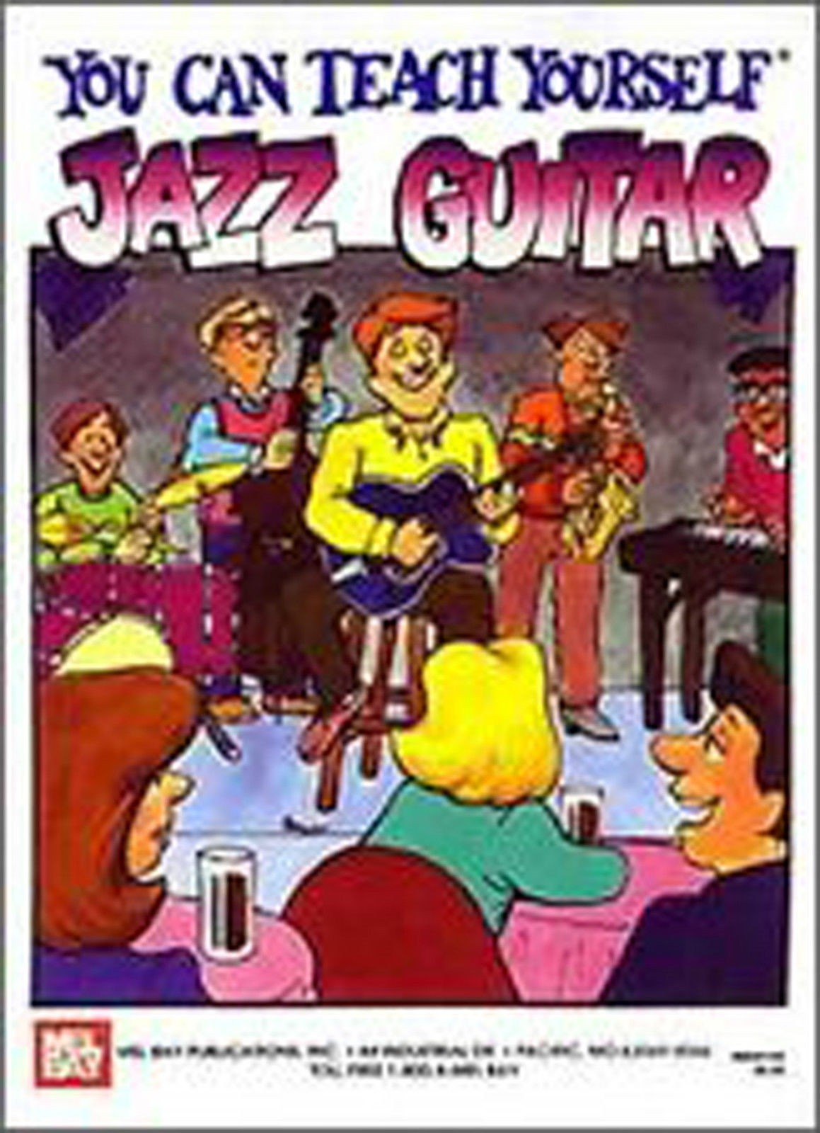 You Can Teach Yourself Jazz Guitar TAB Sheet Music Tutor Method Book B82