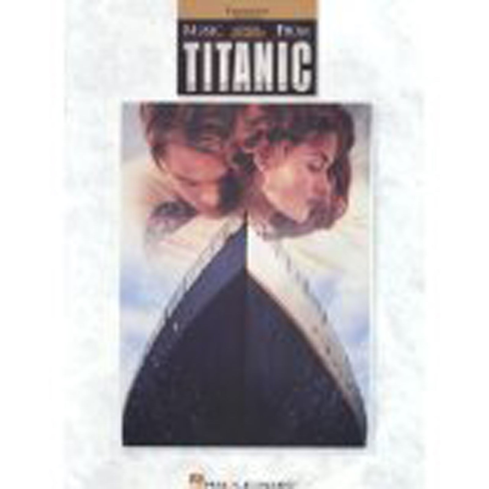 Music From Titanic Trombone Baritone Film Sheet Music Book Easy  S12