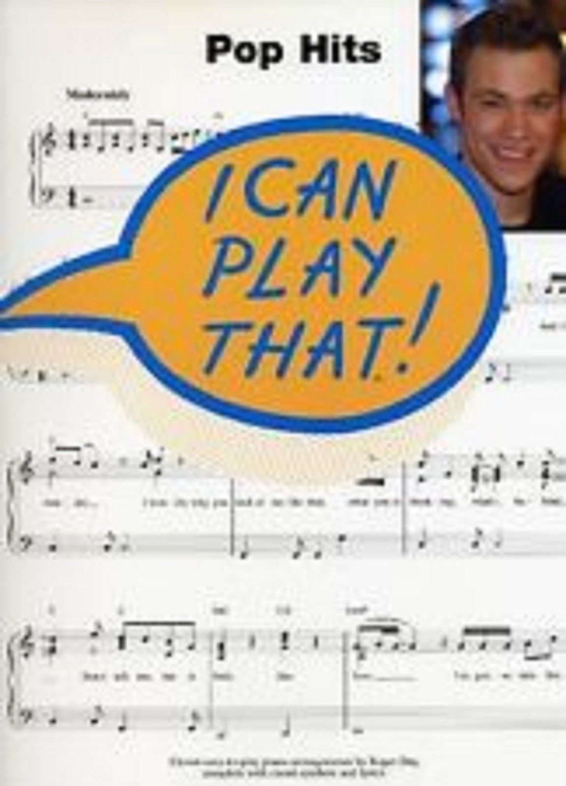 I Can Play That! Pop Hits Very Easy Piano Sheet Music Grades 1-3 Book S20