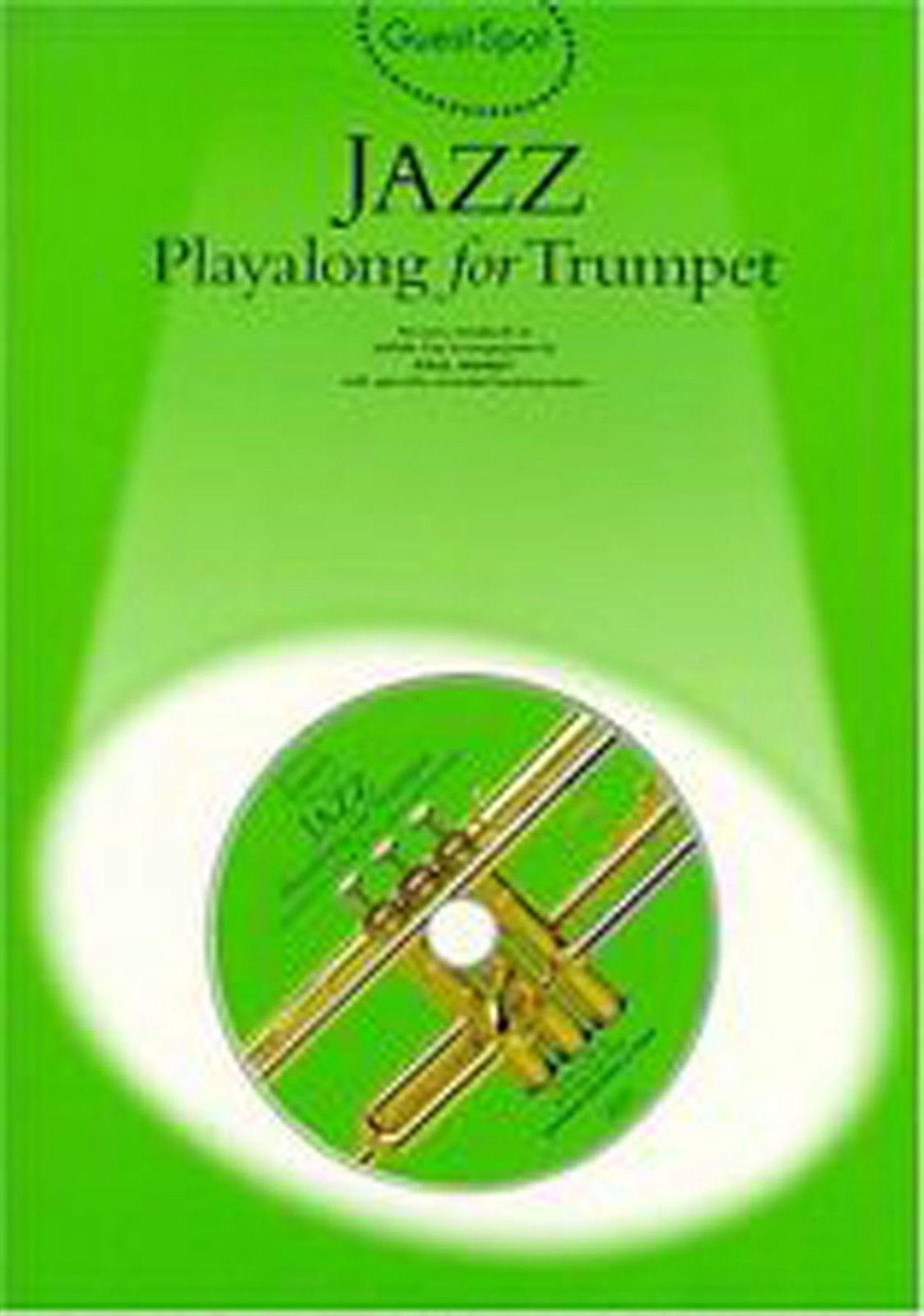 Guest Spot Jazz Playalong Trumpet Book CD Grade 2-4 Easy Sheet Music B48 S60