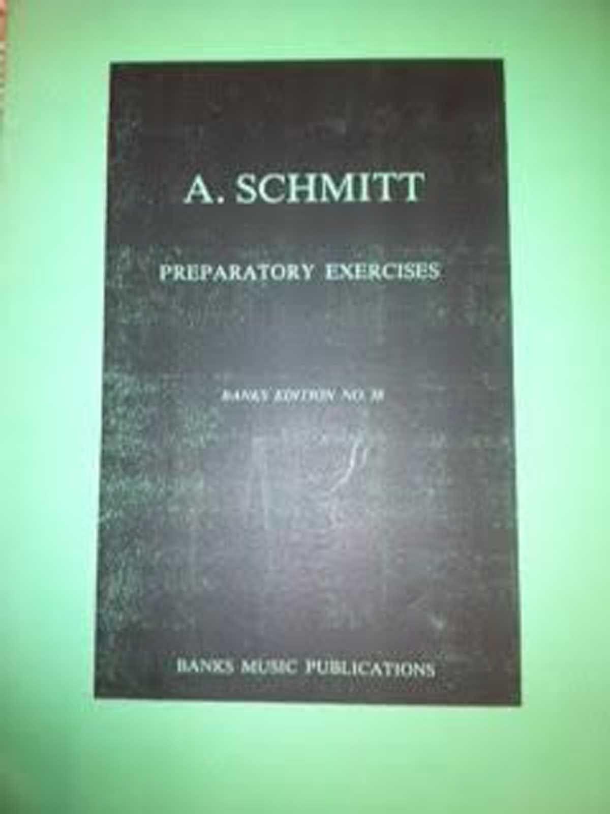 A Schmitt Preparatory Exercises Piano Studies Book B73