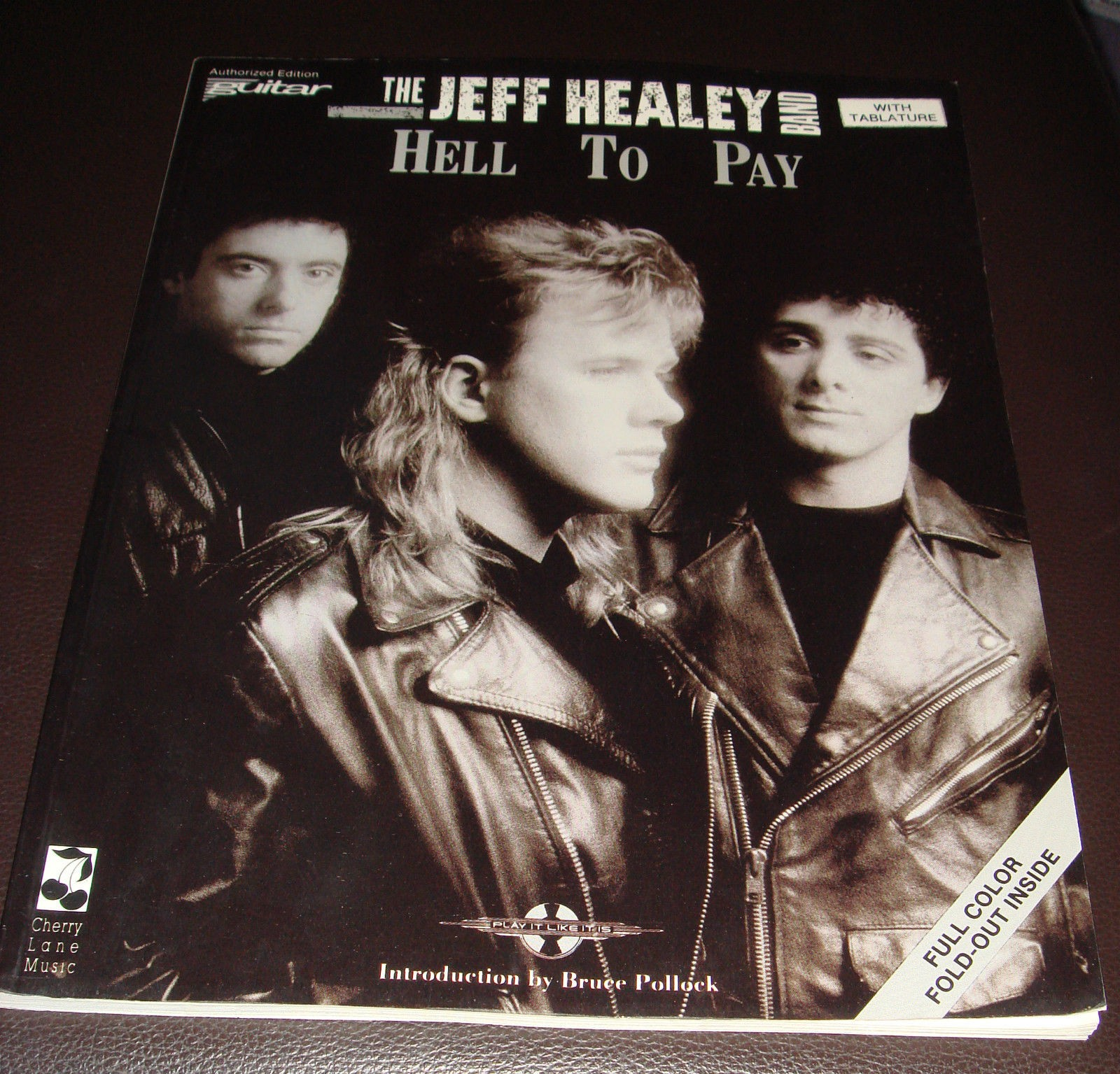 Hell To Pay The Jeff Healey Band Guitar Notes TAB  Book B82