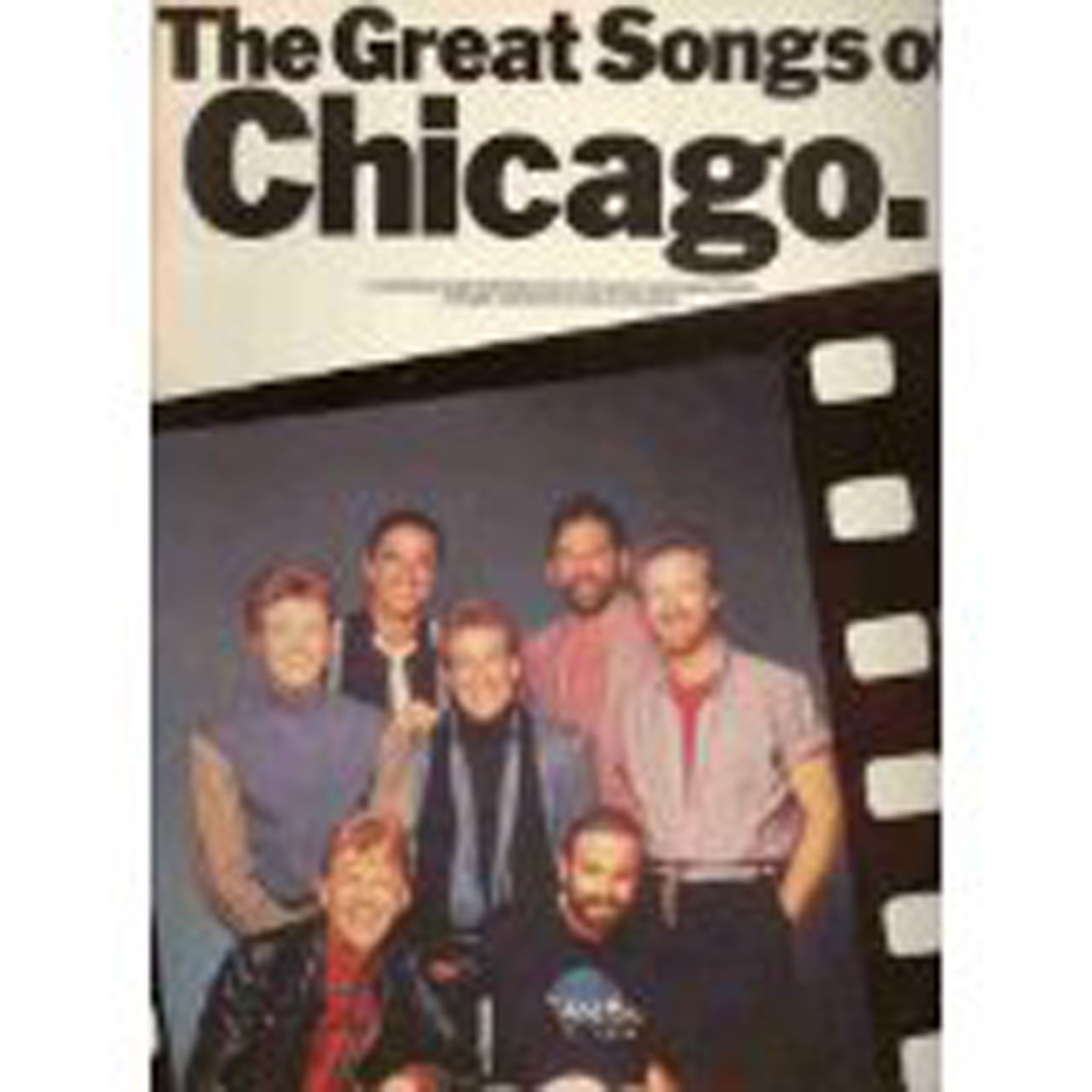The Great Songs Of Chicago Piano Vocal Guitar Sheet Music Songbook S15