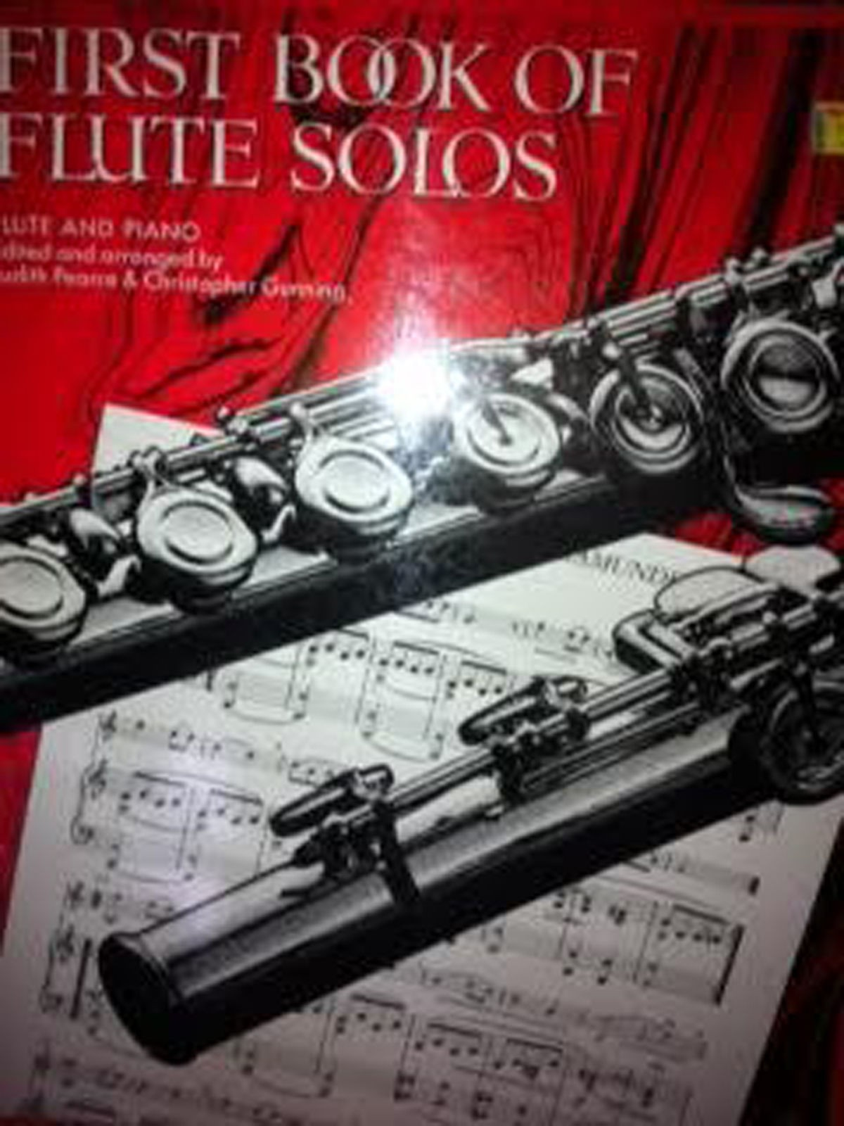 First Book Of Flute Solos Sheet Music Grade 1- 3 Book B78 S141
