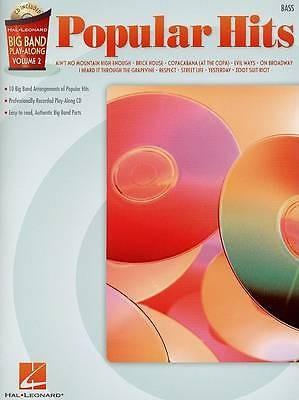 Big Band Play Along Popular Hits Bass Guitar Volume 2 Sheet Music Book CD B24