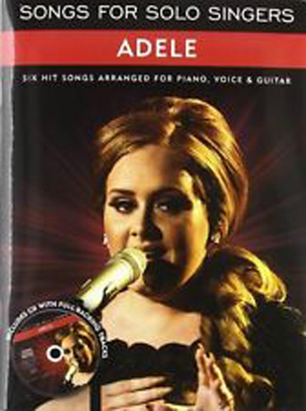 Songs For Solo Singers Adele Piano Voice Guitar Book CD B23