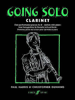 Going Solo Clarinet Piano First Performance Book B25