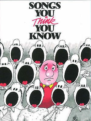Songs You Think You Know Easy Piano Vocal 100 Famous Song Book B27