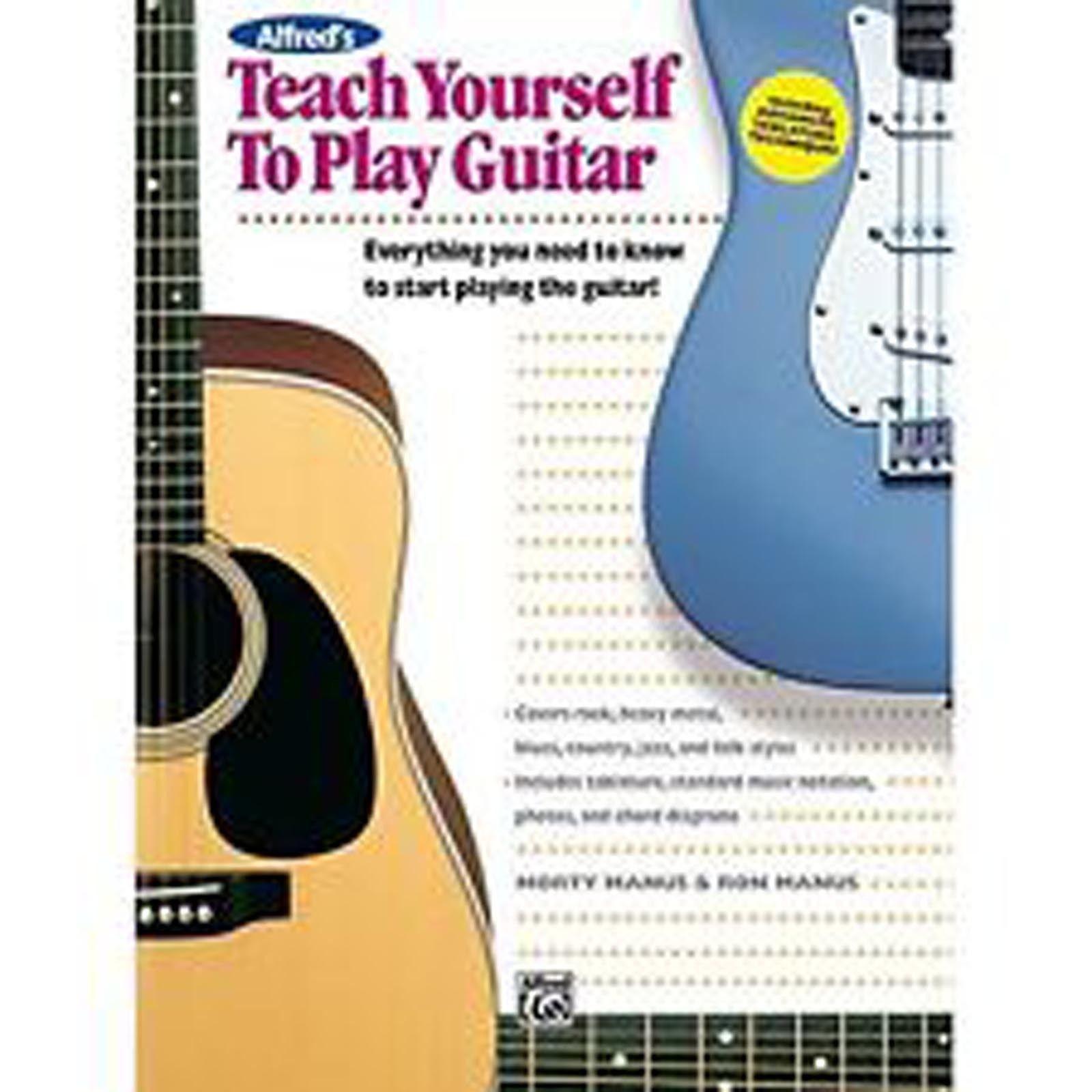 Teach Yourself To Play Guitar Sheet Music TAB Tutor Book B27