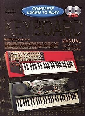 Complete Learn To Play Keyboard Manual by Turner & Gelling Book & CD B39