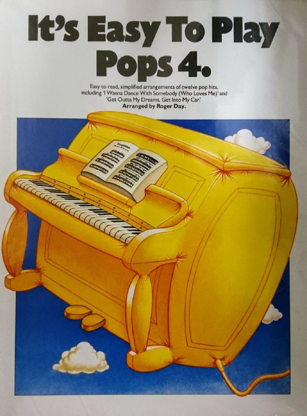 Its Easy To Play Pops 4 Piano Chords Lyrics Sheet Music Book S148
