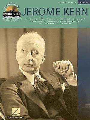 Piano Play Along Jerome Kern Book CD Piano Vocal Guitar B39
