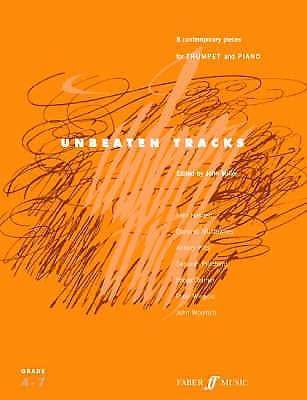 Unbeaten Tracks Trumpet Piano Contemporary Pieces Sheet Music Book B29