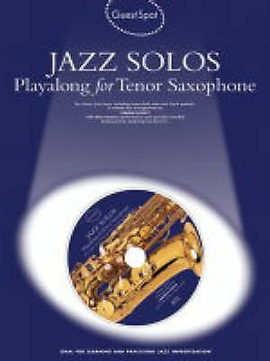 Guest Spot Jazz Solos Play-Along for Tenor Saxophone Book & CD B36