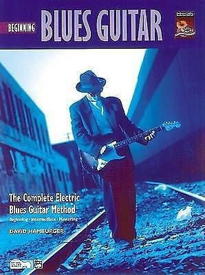 The Complete Electric Blues Guitar Method David Hamburger Beginning Book CD B30