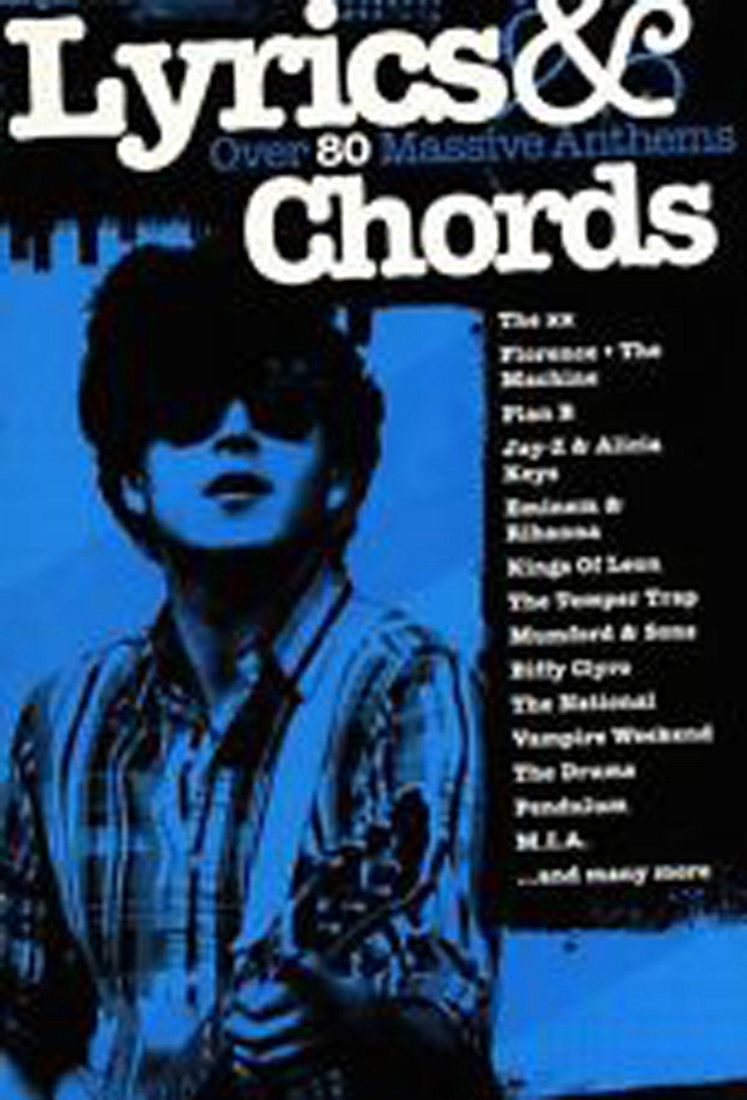 Lyrics & Chords Massive Anthems Guitar Book B51