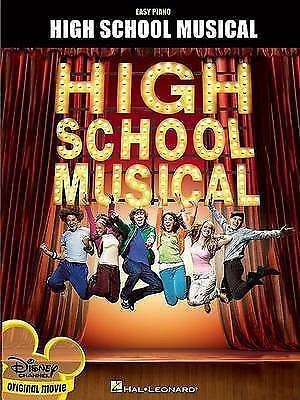 High School Musical Easy Piano Sheet Music Book B48