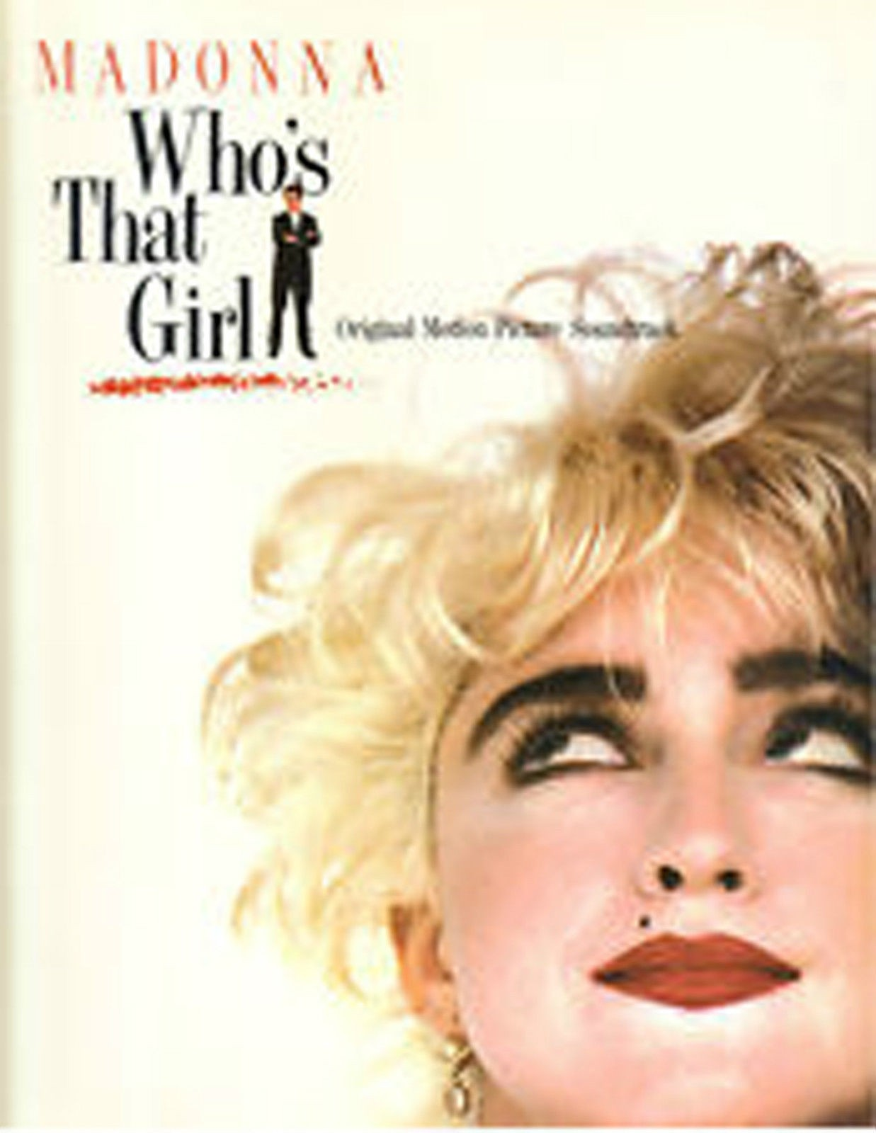 Madonna Whos That Girl Songbook Piano Voice Guitar Soundtrack Book S100