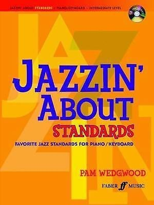 Jazzin' About Standards Piano Book & CD Pam Wedgwood Favorite Jazz Songs B36