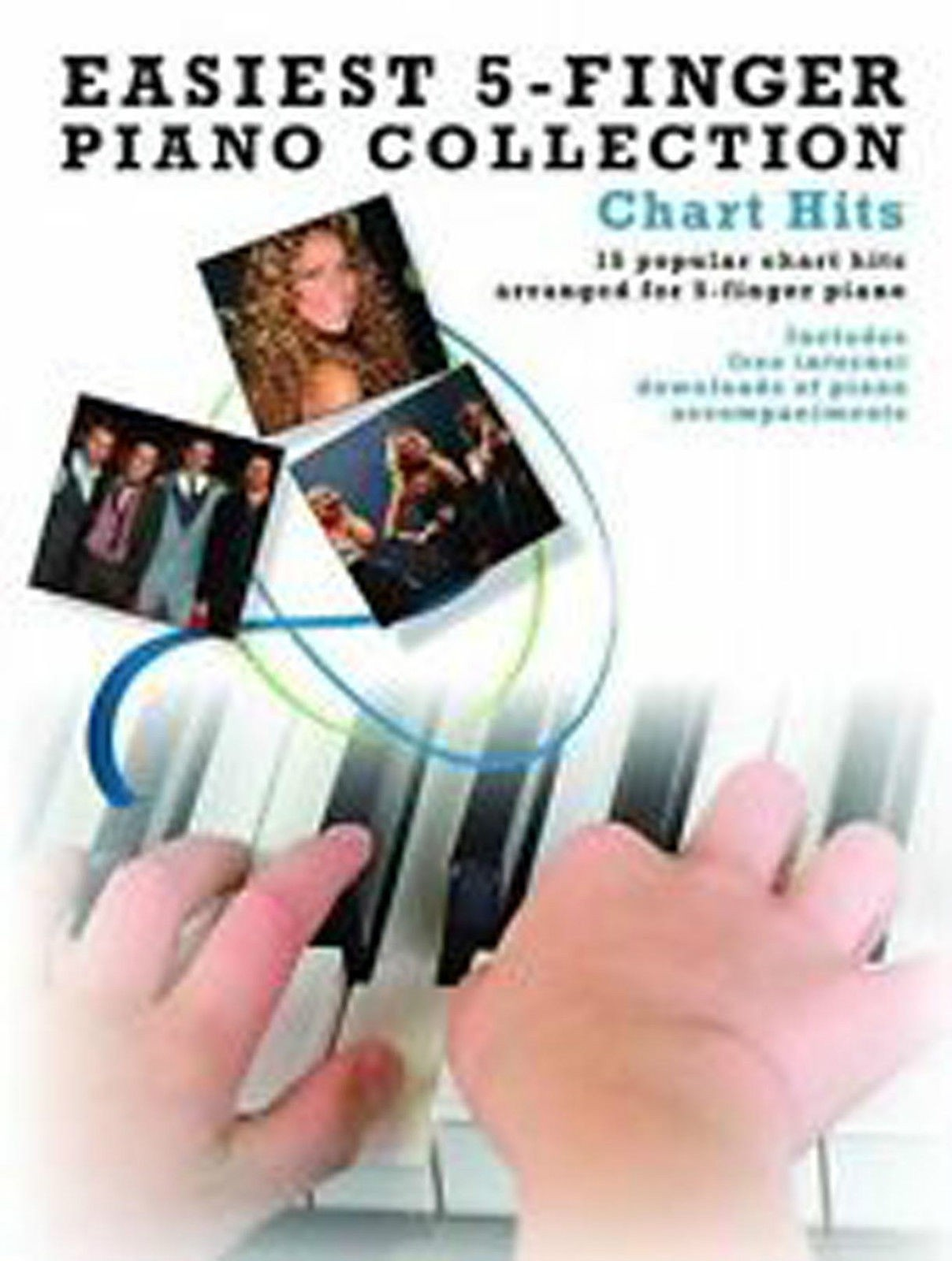 Easiest 5-Finger Piano Collection Chart Hits Book B33 S89