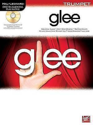 Glee Playalong Trumpet Book & CD Sheet Music Pub Hal Leonard S66 B32