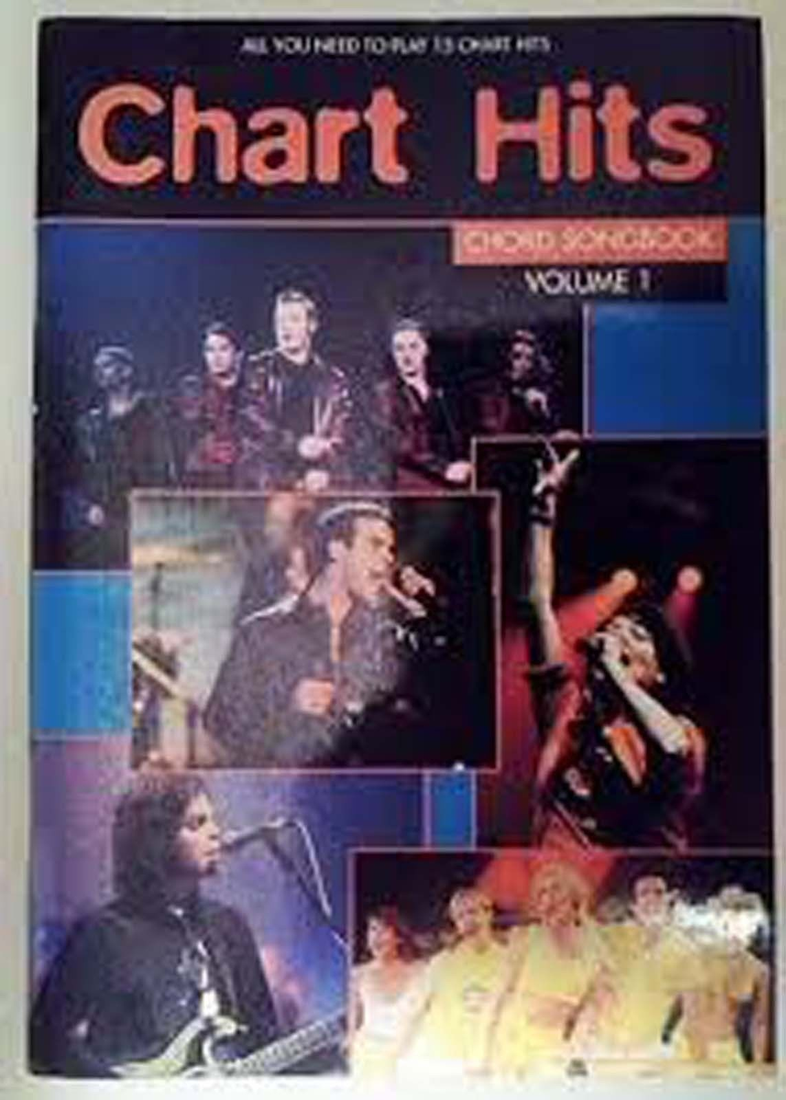 Chart Hits Chord Songbook Volume 1 Nineties Sheet Music Guitar Jamiroquai S06