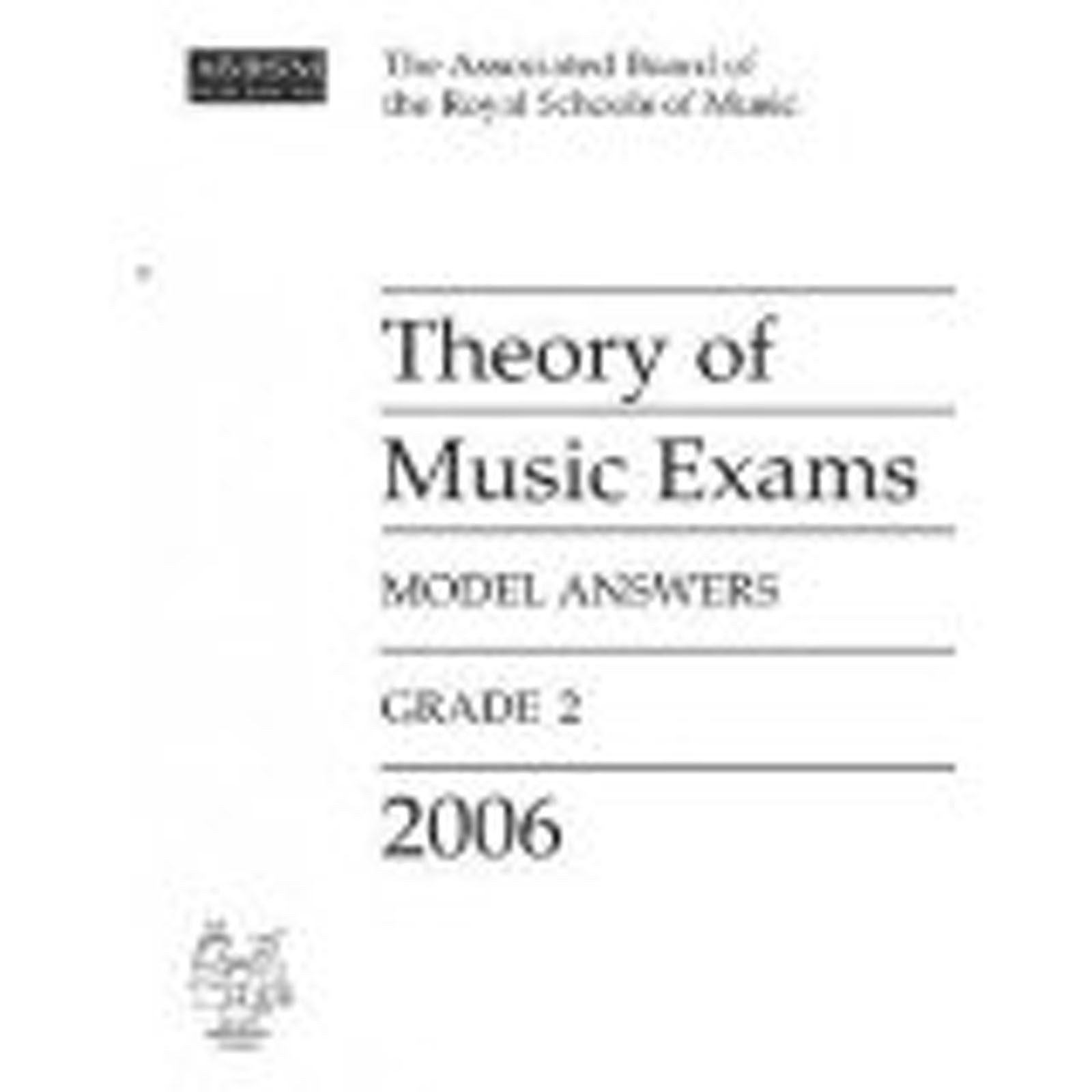 Theory of Music Exams Grade 2 Model Answers 2006 ABRSM Book Prep Book S06