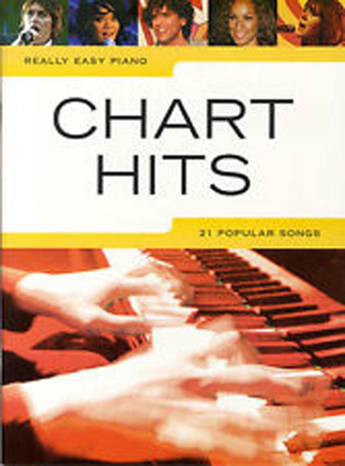 Really Easy Piano Chart Hits Sheet Music Book Leona Lewis  McFly Kate Nash B29