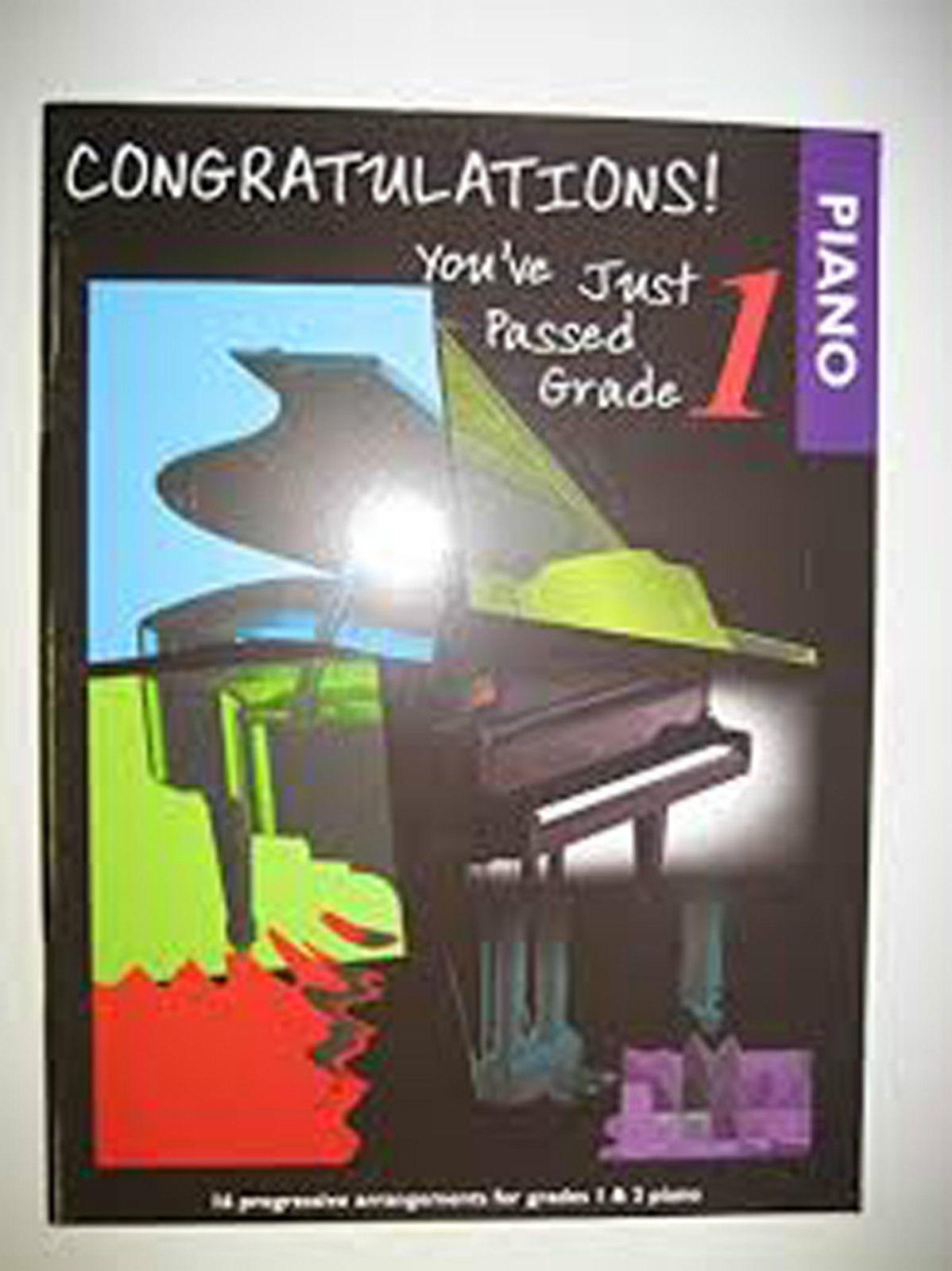 Congratulations You've Just Passed Grade 1 Piano Pieces Fun Repertoire Music B83