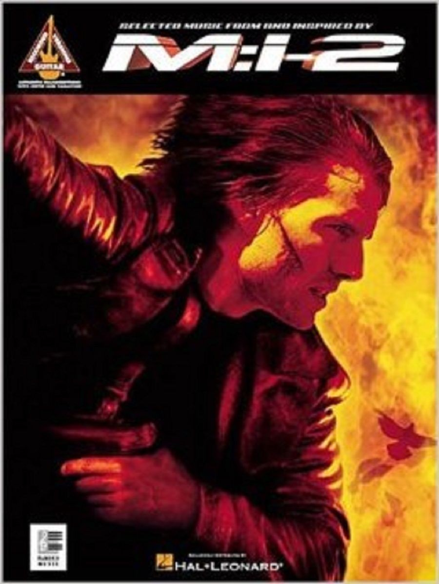 Mission Impossible 2 Selected Music Songbook Sheet Music Piano Chords S23