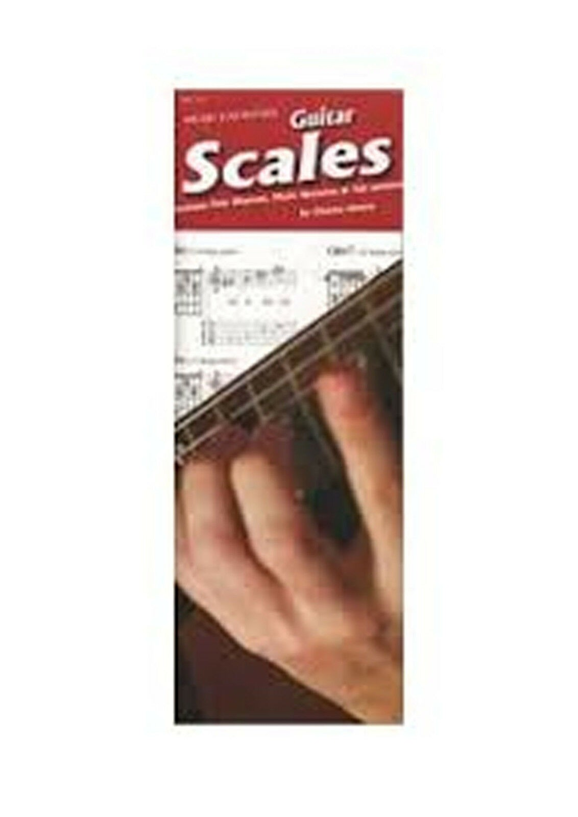Guitar Scales Easy Diagrams Notes Tab Charles Amore Music Spiral Bound Book S126