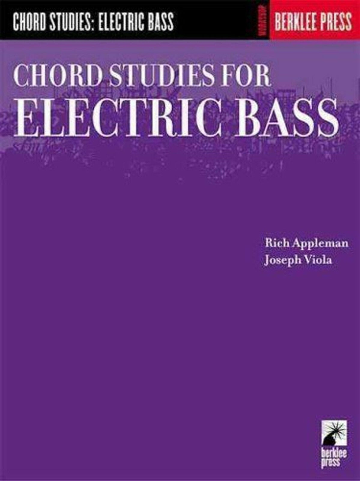 Chord Studies for Electric Bass Berklee Workshop Music Book Applebaum Viola S04