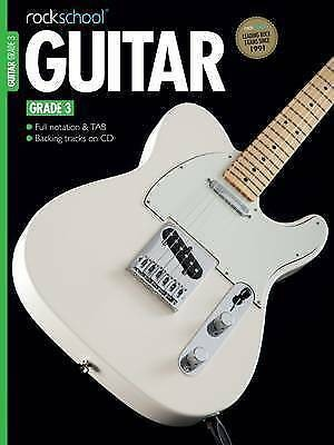 Rockschool Guitar Grade 3 2012 - 2018 Music Book CD Electric Exam Notes TAB S28