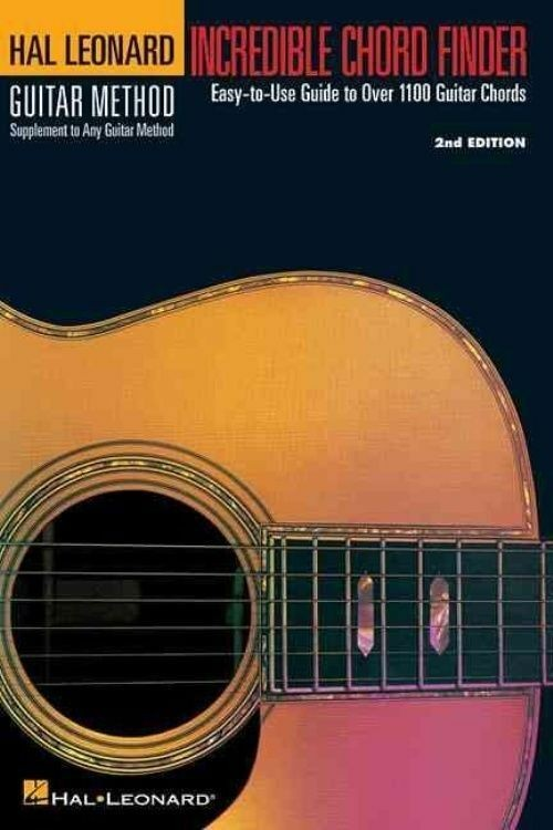 Incredible Chord Finder Guitar Method Over 1100 Chords Easy To Use Case Book S30