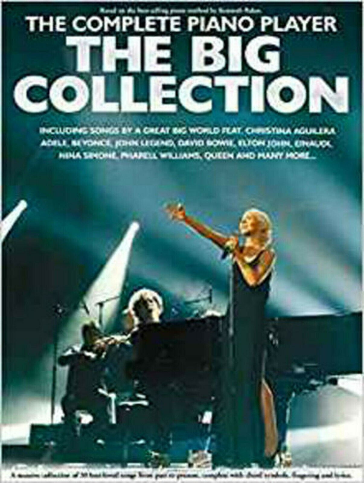 The Complete Piano Player The Big Collection Book Easy Adele Beyonce Queen S31