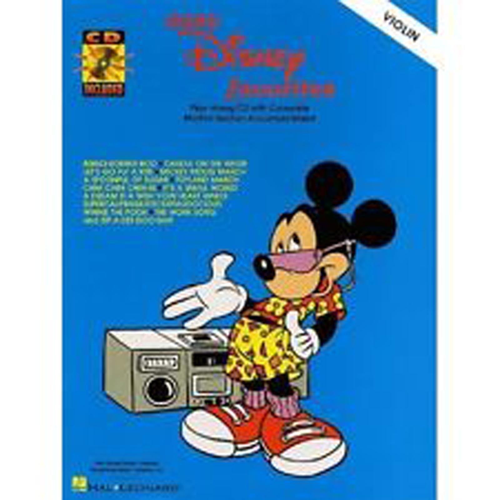 Easy Disney Favorites Favourites Violin Film Tunes Songs Book Play-Along CD B23
