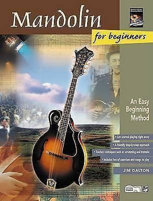 Mandolin for Beginners An Easy Beginning Method Book CD Sheet Music Dalton B24