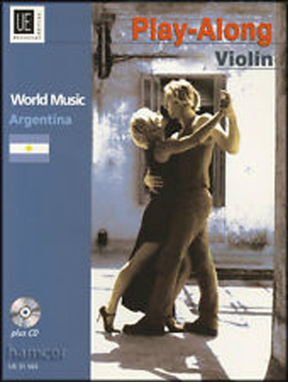 World Music Argentina Play-Along Violin Tango Waltz Zamba Book CD Collatti B28
