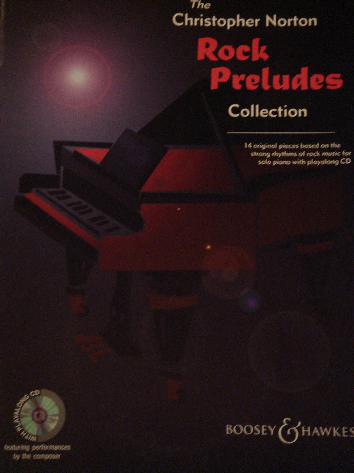 Rock Preludes Collection Christopher Norton Book CD Piano Advanced 14 Tunes S147