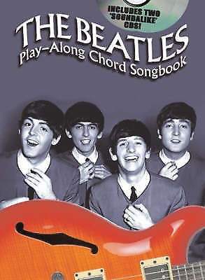Beatles Play-Along Chord Songbook The Early Years Book CDs Spiral Bound B22 S91