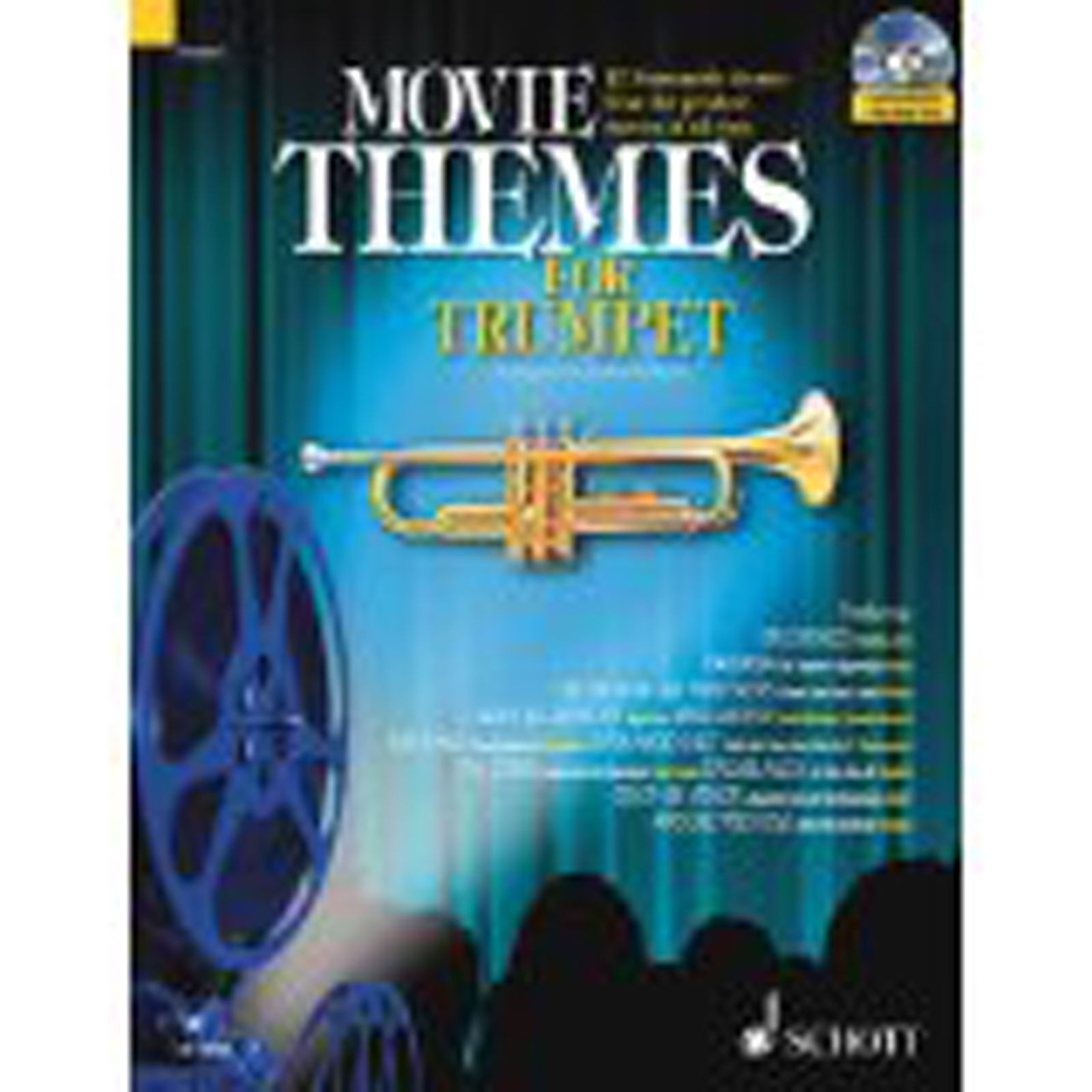 Movie Themes for Trumpet Book Playalong CD Film Music Max Charles Davies S93 S57