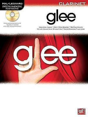 Glee Instrumental Play-Along for Clarinet Book & CD Hal Leonard B36 S76