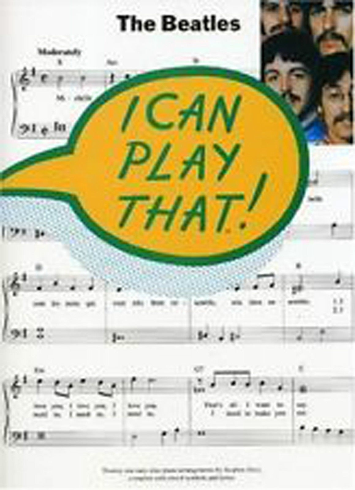 I Can Play That! The Beatles 21 Easy Piano Arrangements by Stephen Duro B37 S83