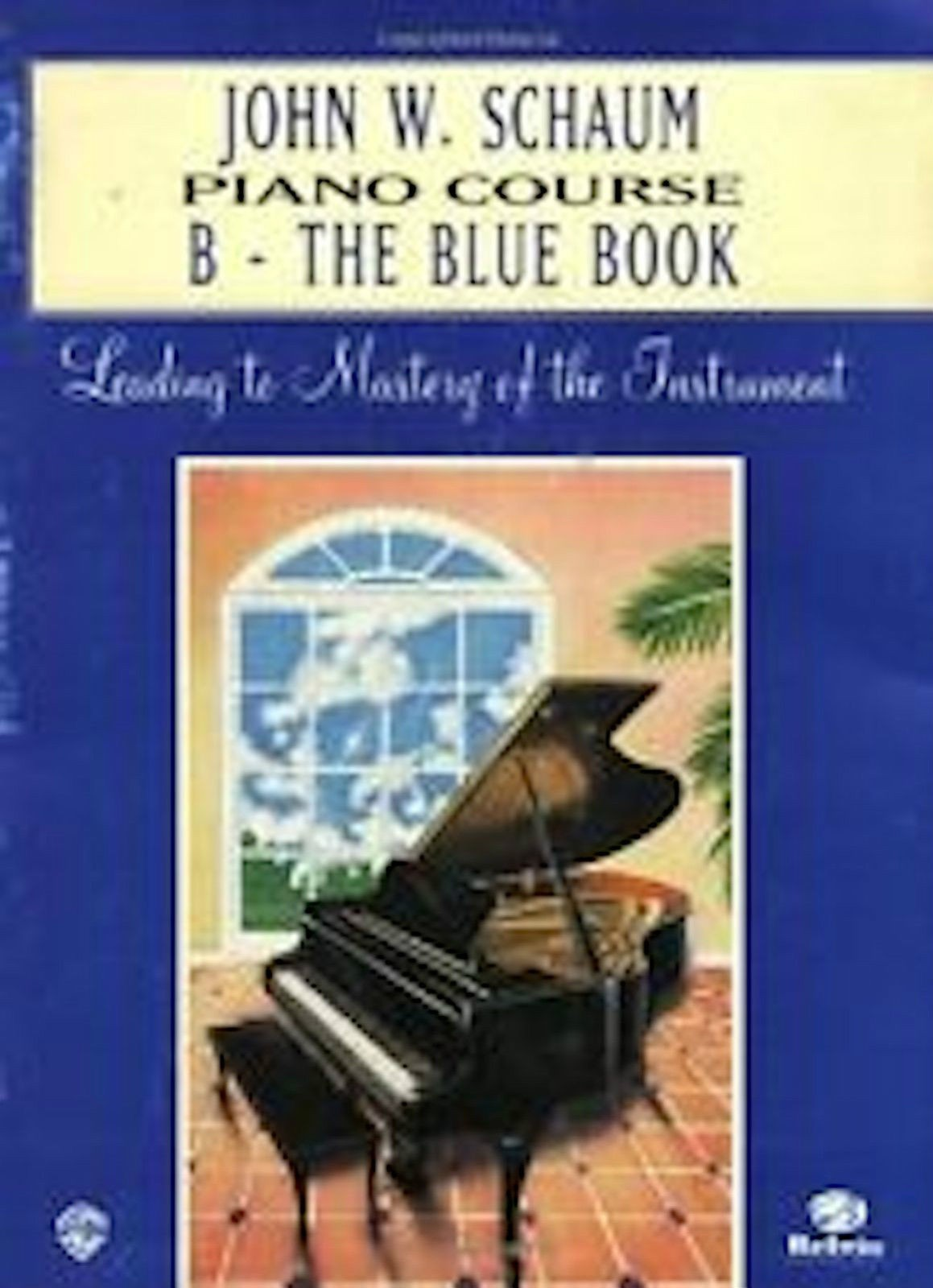 John Schaum Piano Course B The Blue Book Illustrated Young Player Easy Music S91
