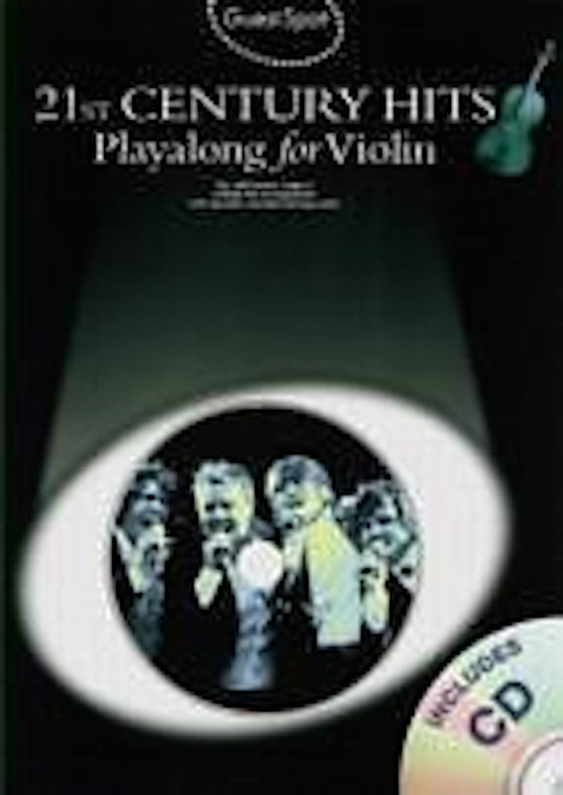 Guest Spot 21st Century Hits Play-Along for Violin Book & CD B38 S99
