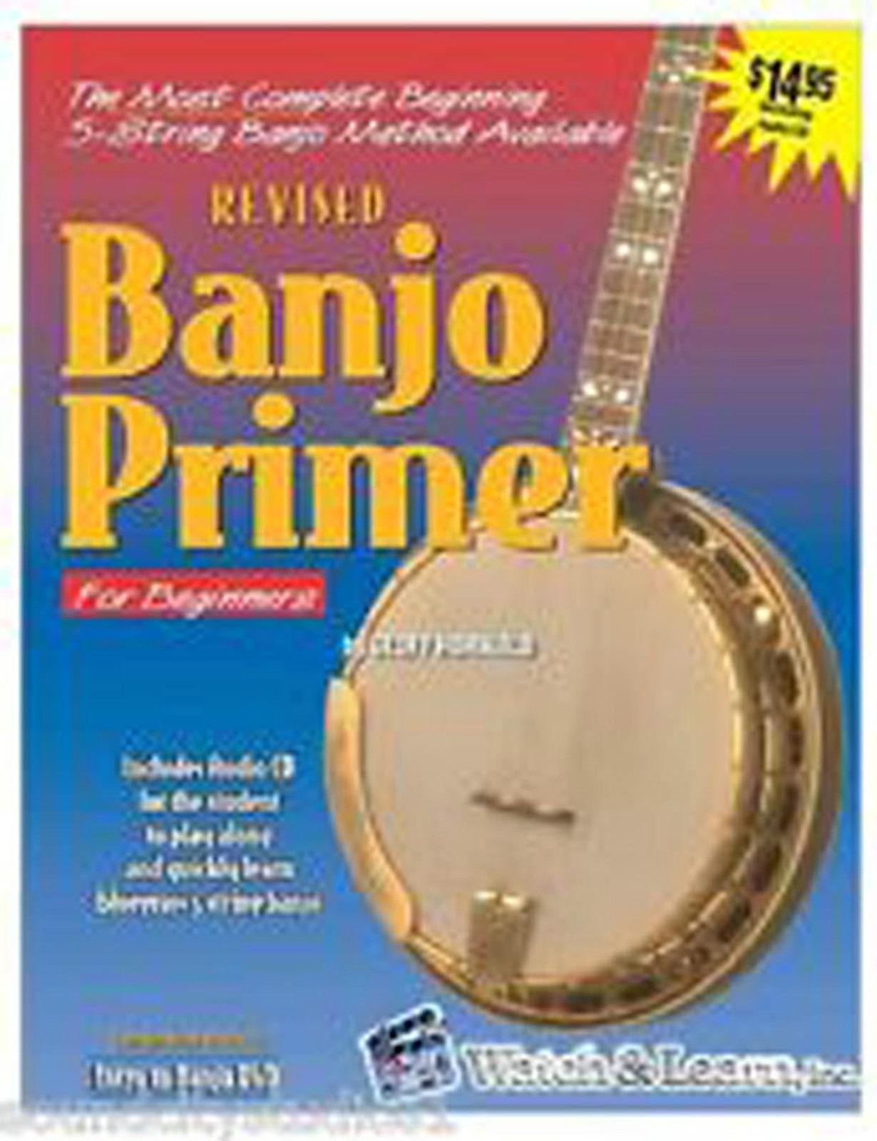 Banjo Primer Geoff Hohwald BooK CD Tutor Method Learn Beginner 5 String S127